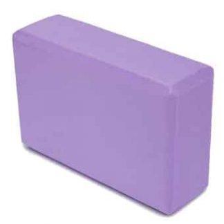 bloque yoga color lavanda