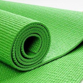 esterilla yoga verde
