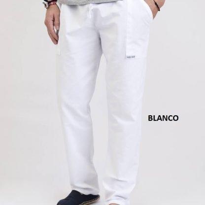 pantalón pintor blanco