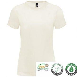 camiseta yoga de mujer algodón orgánico