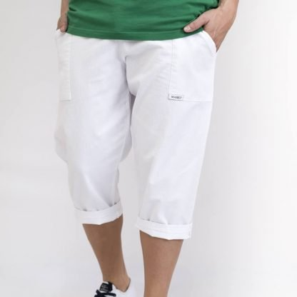 pantalon yoga blanco