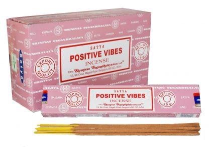 incienso satya positive vibes