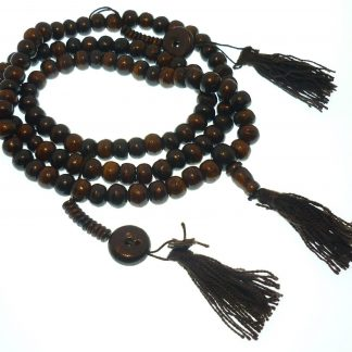 mala rosario tibetano hueso