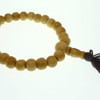 mala rosario tibetano hueso muñeca